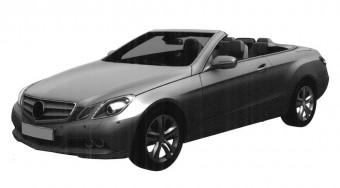 Fotók az új Mercedes E kabrióról
