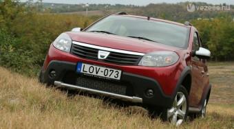 Dízel Stepway, a kipucolt Dacia