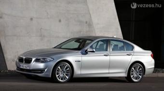 Megjött az új Ötös BMW