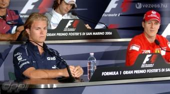 Rosberg lenne Schumacher csapattársa