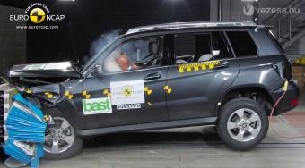 Ütközésvédelem nélkül is ötcsillagos a Mercedes GLK