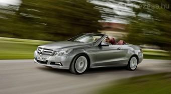 Itt az új Mercedes-Benz E kabrió - videó