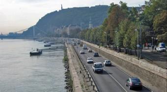 Új nevet kapnak a budapesti alsó rakpartok