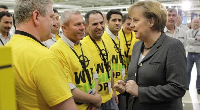 Merkel nem a GM-et favorizálta, mégis nyeregben maradtak az amerikaiak