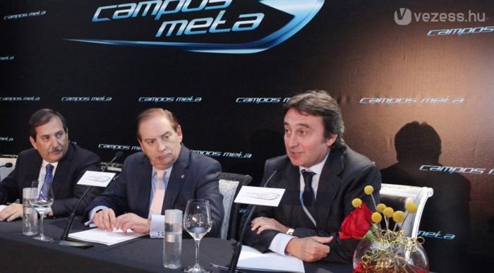 Campos (jobbra) azt ígéri, ott lesznek Bahreinben