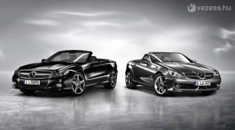 Sötétedés a Mercedesnél
