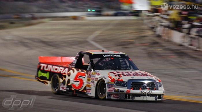 A NASCAR-ban csinálna karriert