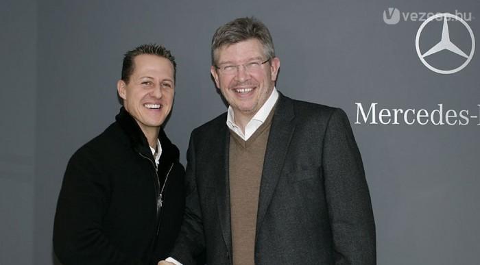 Schumacher, Brawn, Mercedes - bajnoki kombináció?