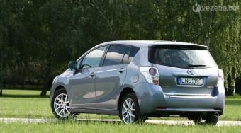 Teszt: Toyota Verso Sol 1,8 CVT