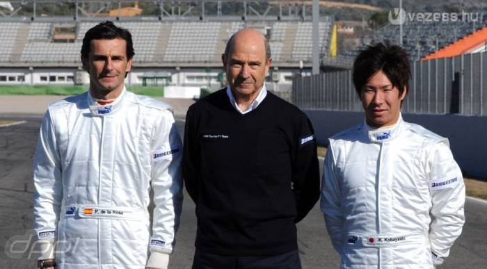 De la Rosa, Sauber, Kobayashi