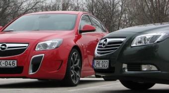 Szupertakarékos nagy Opel