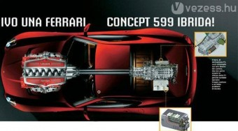 Genfben jön a hibrid Ferrari