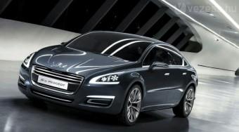 4 litert fogyaszt az új Peugeot limuzin
