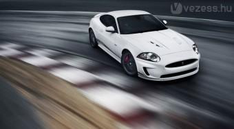 Kész a leggyorsabb Jaguar XK - videó