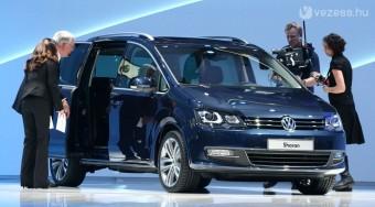 Világpremier: Volkswagen Sharan