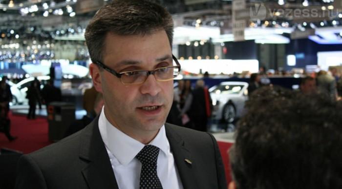 Corsini az Opel Ampera fejlesztési vezetője