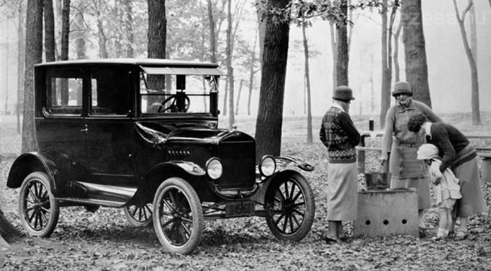 Száz éve a T-Ford 11-13 literrel beérte