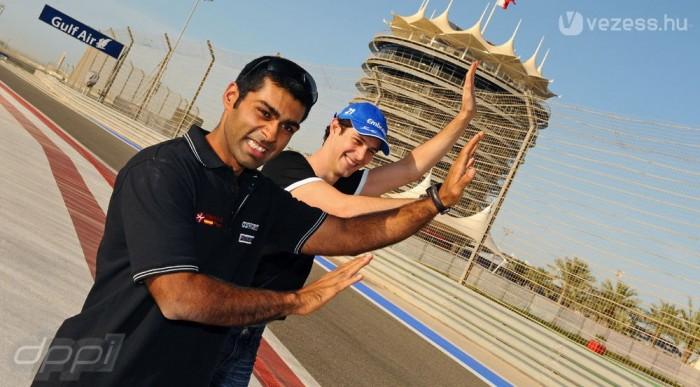 Chandhok és Senna az utolsó pillanatban érkezett