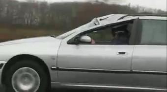 Roncs az autópályán!