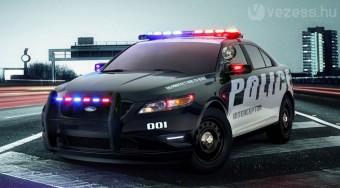 Az új amerikai Rendőrautó