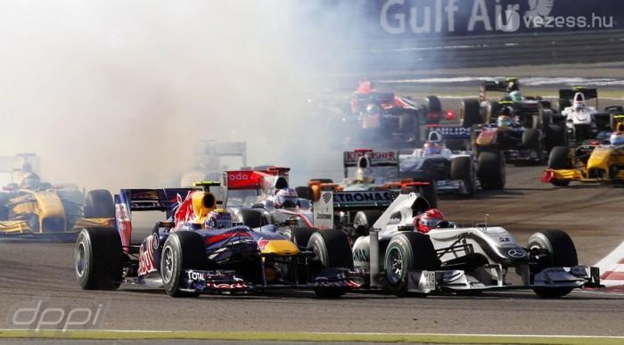 A Mercedes részéről szó sem volt féltékenységről