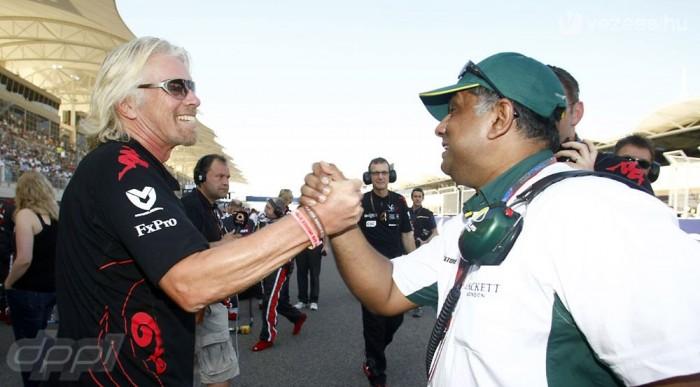Branson és Fernandes - Virgin-Lotus: 0:1