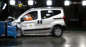 Citroën Nemo - törésteszten is csak kishal