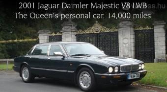 Eladó a királynő autója