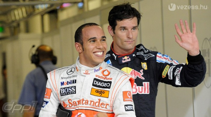 Hamilton gondolhat amit akar, Webber nem megy sehova