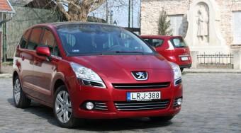 Teszt: Peugeot 5008 1,6 HDi