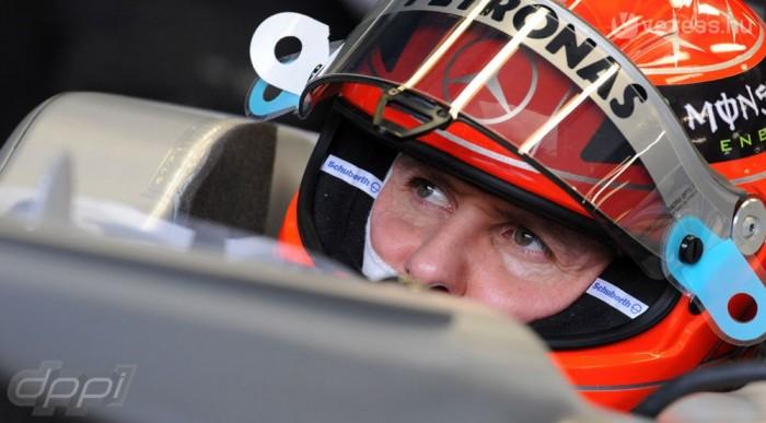 Schumi javult, Rosberg toporgott