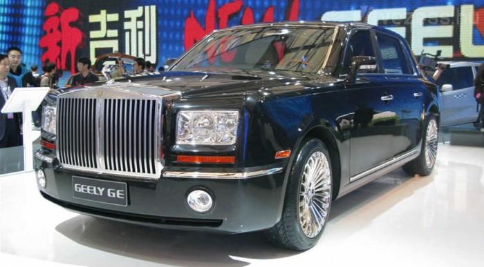 Rolls-Royce utánzatot is készítenek