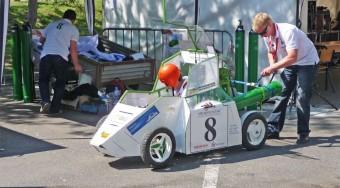 Jövőautók versenyeznek Győrben