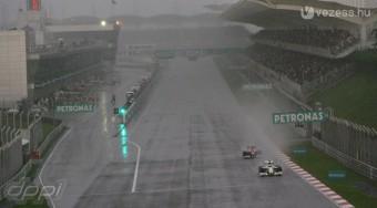 F1: Az esőmenők hétvégéje
