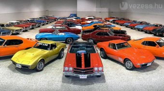 Eladja autóit egy gyűjtő, mind a 80-at