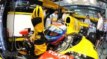 F1: Kövér az újonc