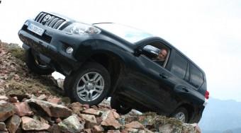 Extrém teszt: Toyota Land Cruiser