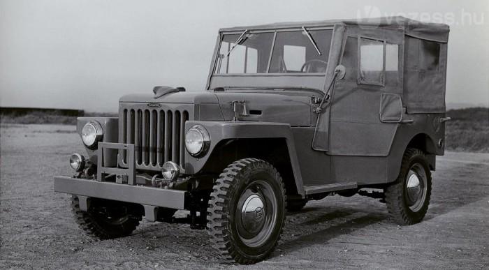 1955-től hívják a BJ-t Land Cruisnernek