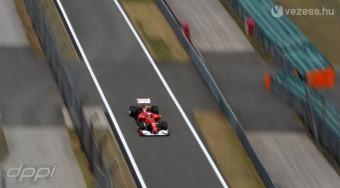 F1: A Ferrari tesztelt a hétvégén