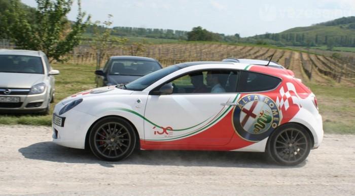 A 170 lóerős Alfa MiTo volt a legsportosabb autó