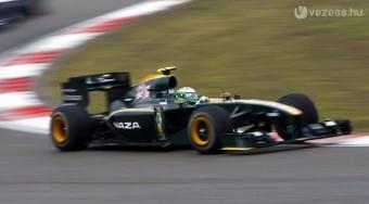 F1: Nagy szponzort fogott a Lotus
