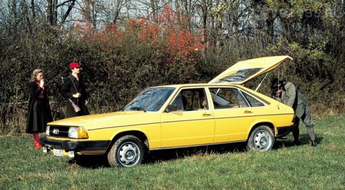 Ötajtós Audi 100 1976-ból