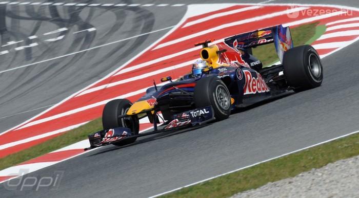 Vettel a semmiből rántott elő héttizedet