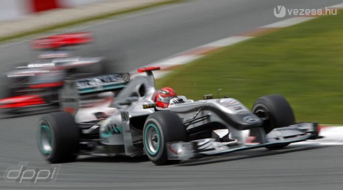 Schumacher szezonja is elkezdődött
