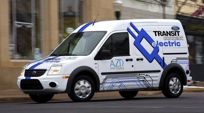 Transit Connectből készül az első széria villany-Ford