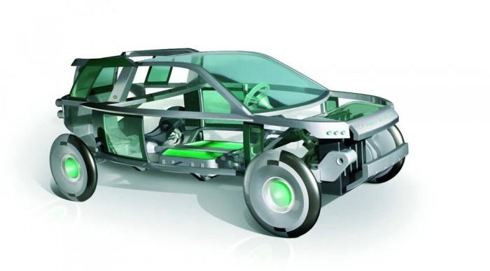 Könnyebb, áramvonalasabb a jövő Land Rovere