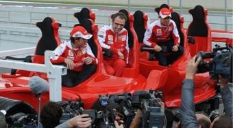 Hullámvasút Ferrari módra
