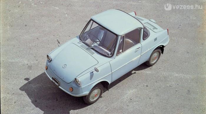 1960-ban így festett az első Mazda személyautó, az R360