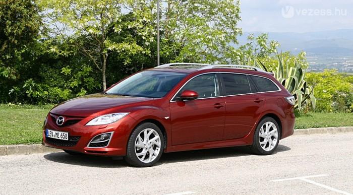 Már ötmillió alatt is lehet új Mazda6-ost kapni