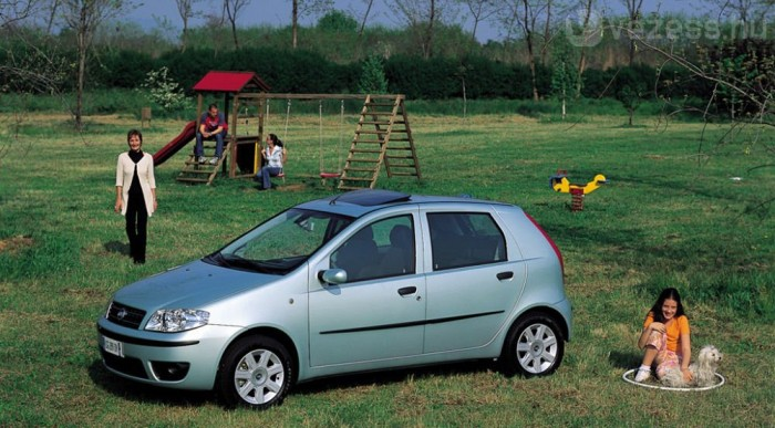 Sereghajtó a második FIAT Punto